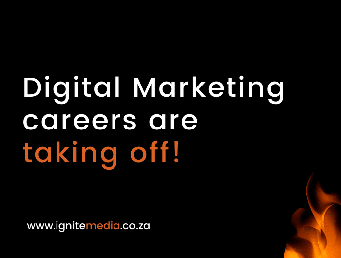Digital marketing careers are taking off